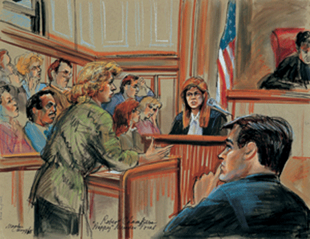 450x347 Marilyn Church Commission A Courtroom Drawing