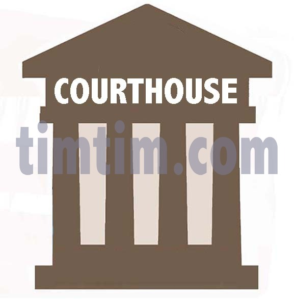 577x587 Free Drawing Of A Courthouse Icaon From The Category Crime Law