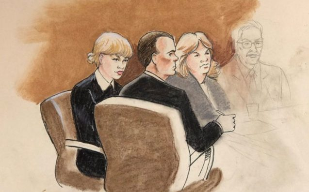 637x397 Taylor Swift's Courtroom Sketch Is Being Roasted For Looking