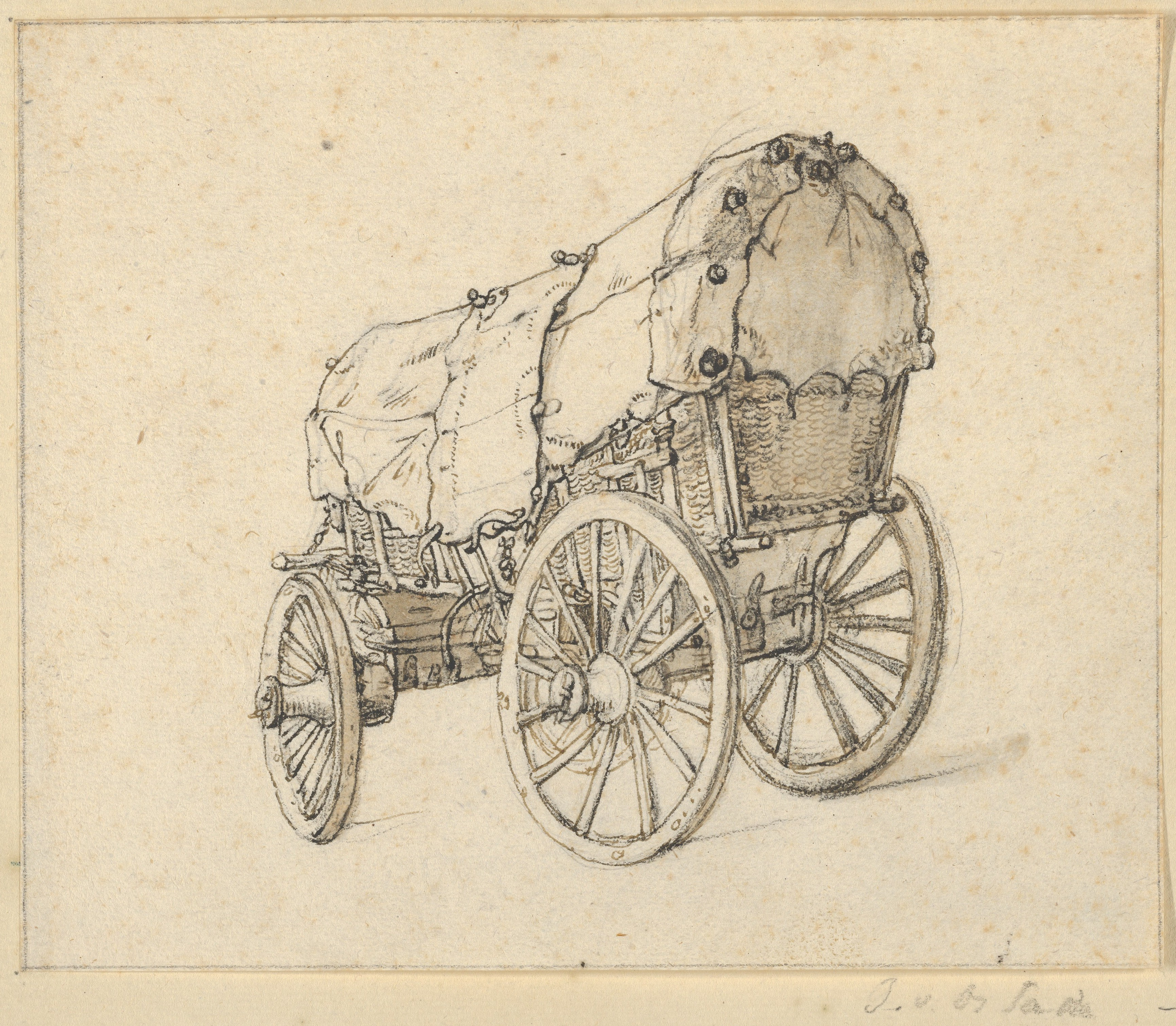 Covered Wagon Drawing at GetDrawings.com | Free for personal use ...