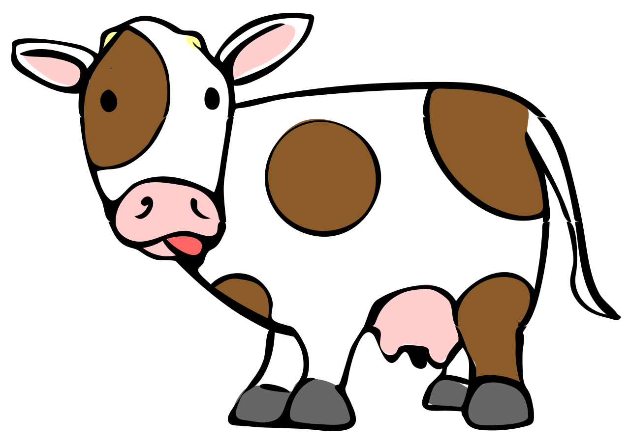 cow cartoon drawing at getdrawings com free for personal use cow rh getdrawings com cartoon cows pictures cute cartoon cows images