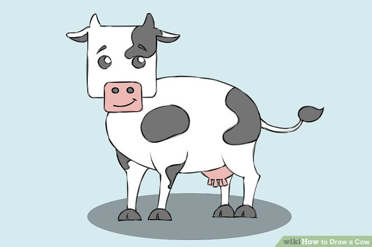 728x485 4 Ways To Draw A Cow