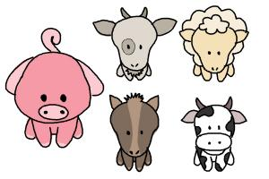 300x200 How To Draw Farm Animals For Kids