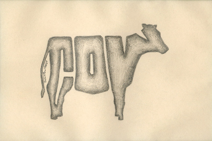 830x553 Cow Pencil Drawing Series For Cow Appreciation Day Overthinking