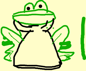 300x250 Frog Needs Less Cowbell