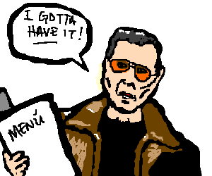 300x250 Mexican Menu Needs More Cowbell! (Drawing By Redheadsoldier)
