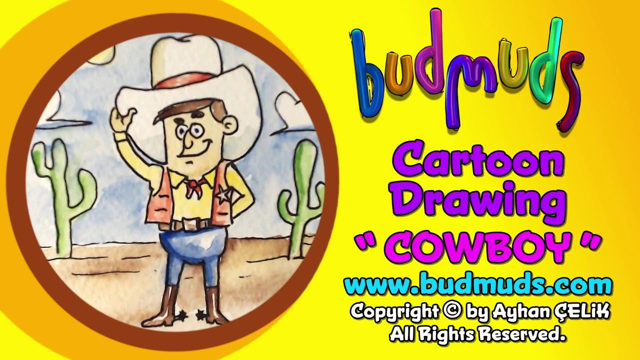 1280x720 How To Draw Cowboy