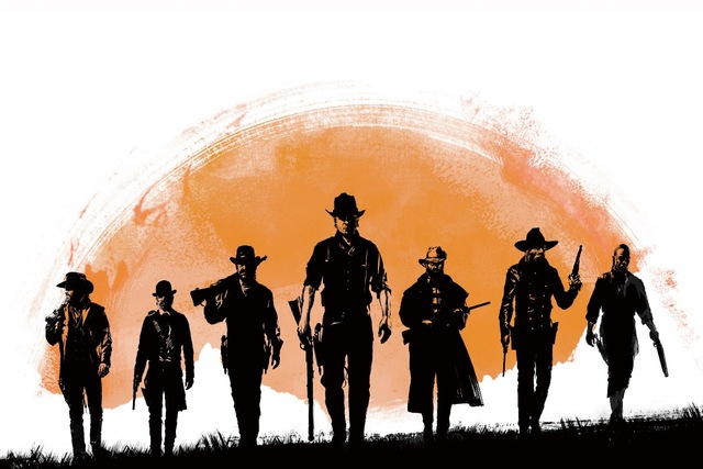 640x427 Red Dead Redemption Western American Style Cowboy Drawing Kb665