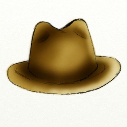 520x518 How To Draw A Cowboy Hat Cowboys, Fun Drawings And Drawings