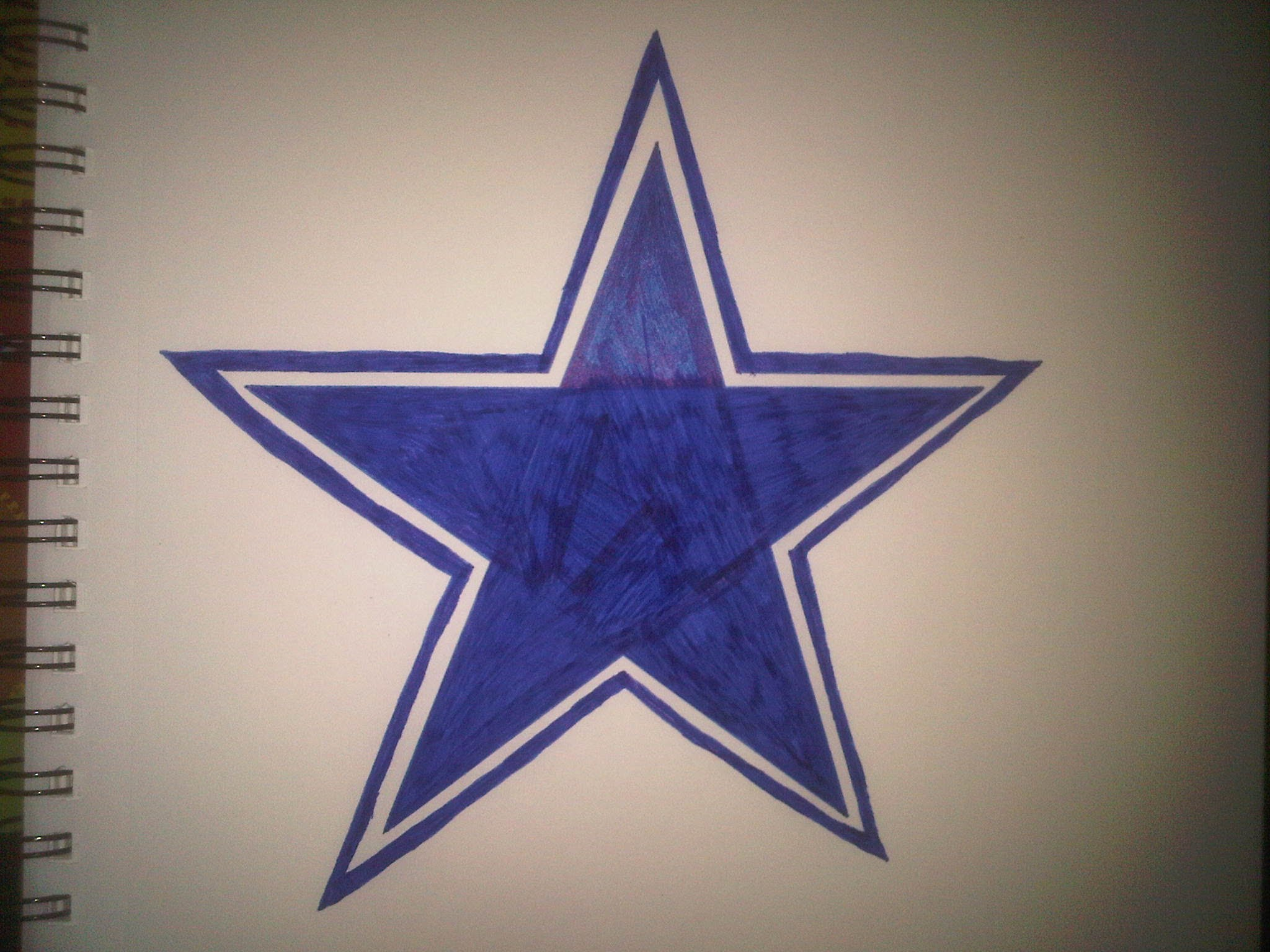 2048x1536 How To Draw The Dallas Cowboys Logo