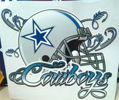 236x198 09. Another View Of Dallas Cowboys Helmet Wall Painting My Son'S