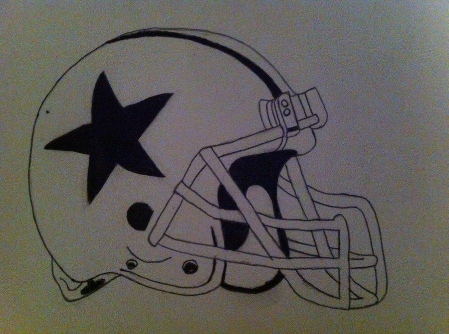 900x671 Cowboys Retro Helmet By Tylersb97
