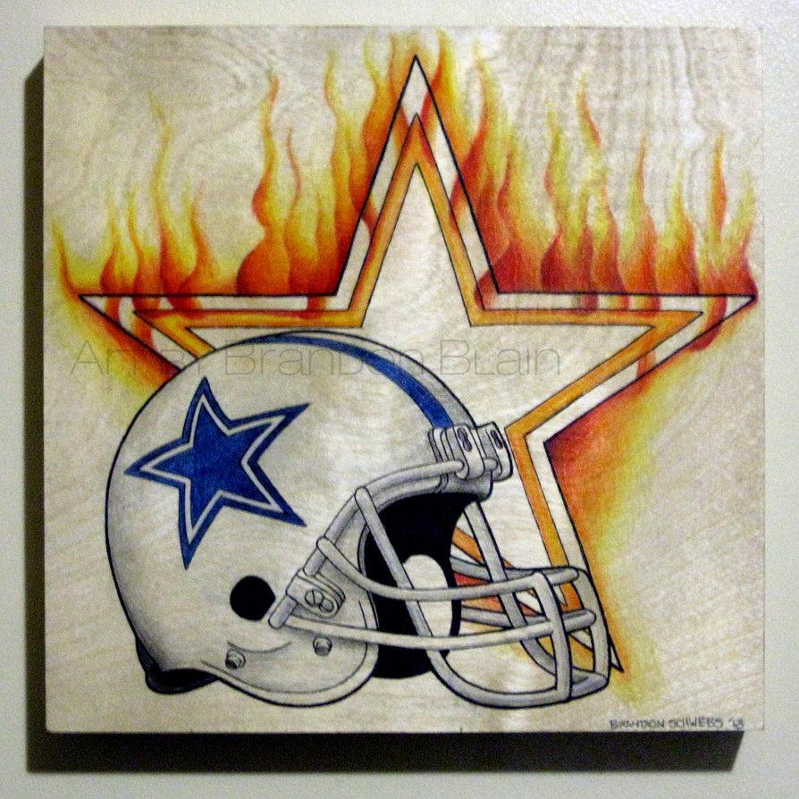 894x894 Dallas Cowboys By Artbyblain