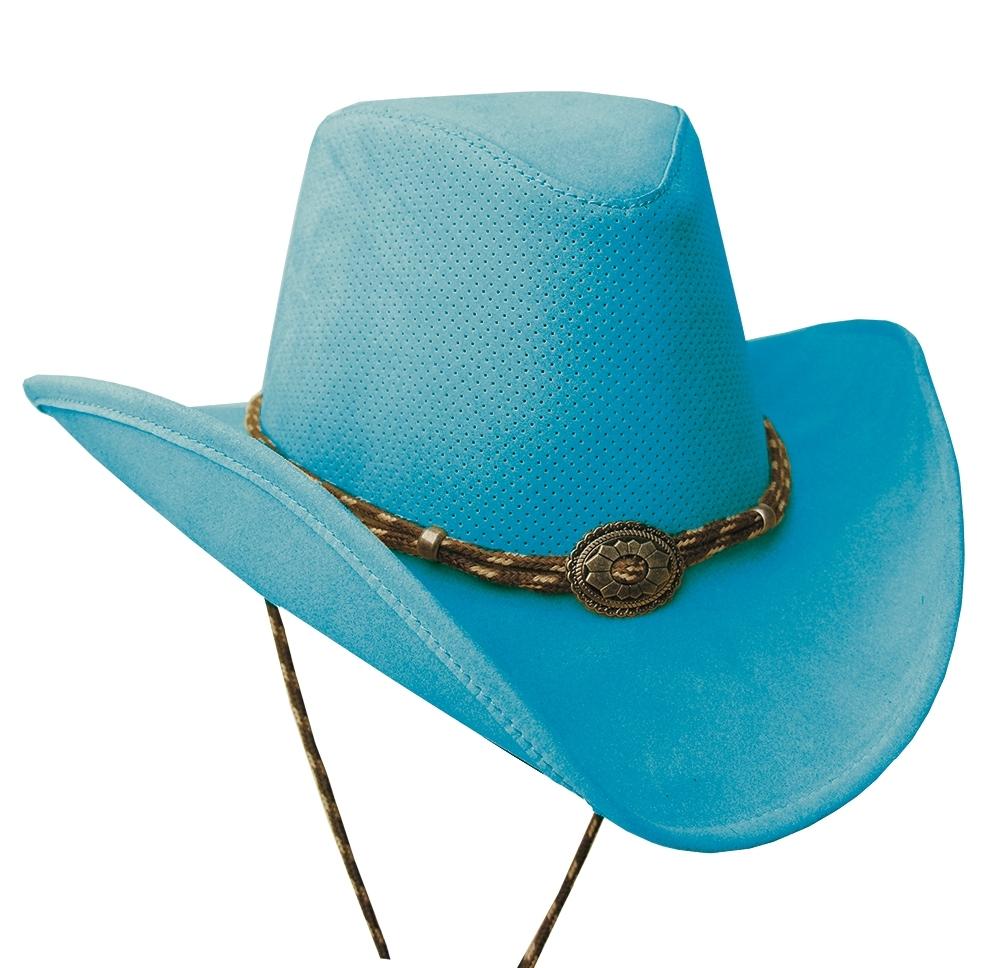 1001x968 Western Plains Aqua Turquoise Kakadu Soaka Cowboy Hat Uv