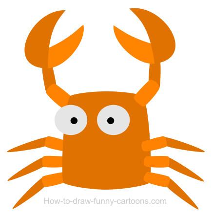 435x448 A Crab Cartoon
