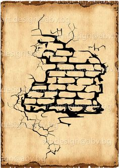 236x333 How To Draw A Cracked Brick