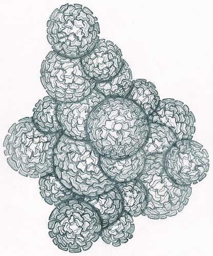 416x500 Cracked Spheres Drawing Most Proud Piece Craig Stephens