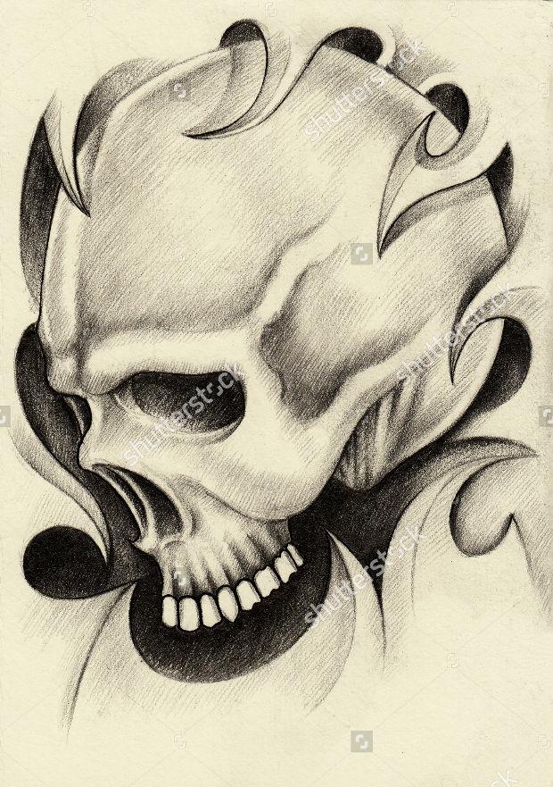620x881 Skull Drawings, Art Ideas Design Trends