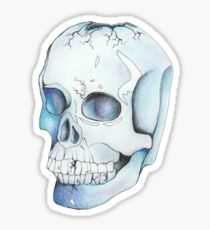 210x230 Cracked Skull Drawing Gifts Amp Merchandise Redbubble