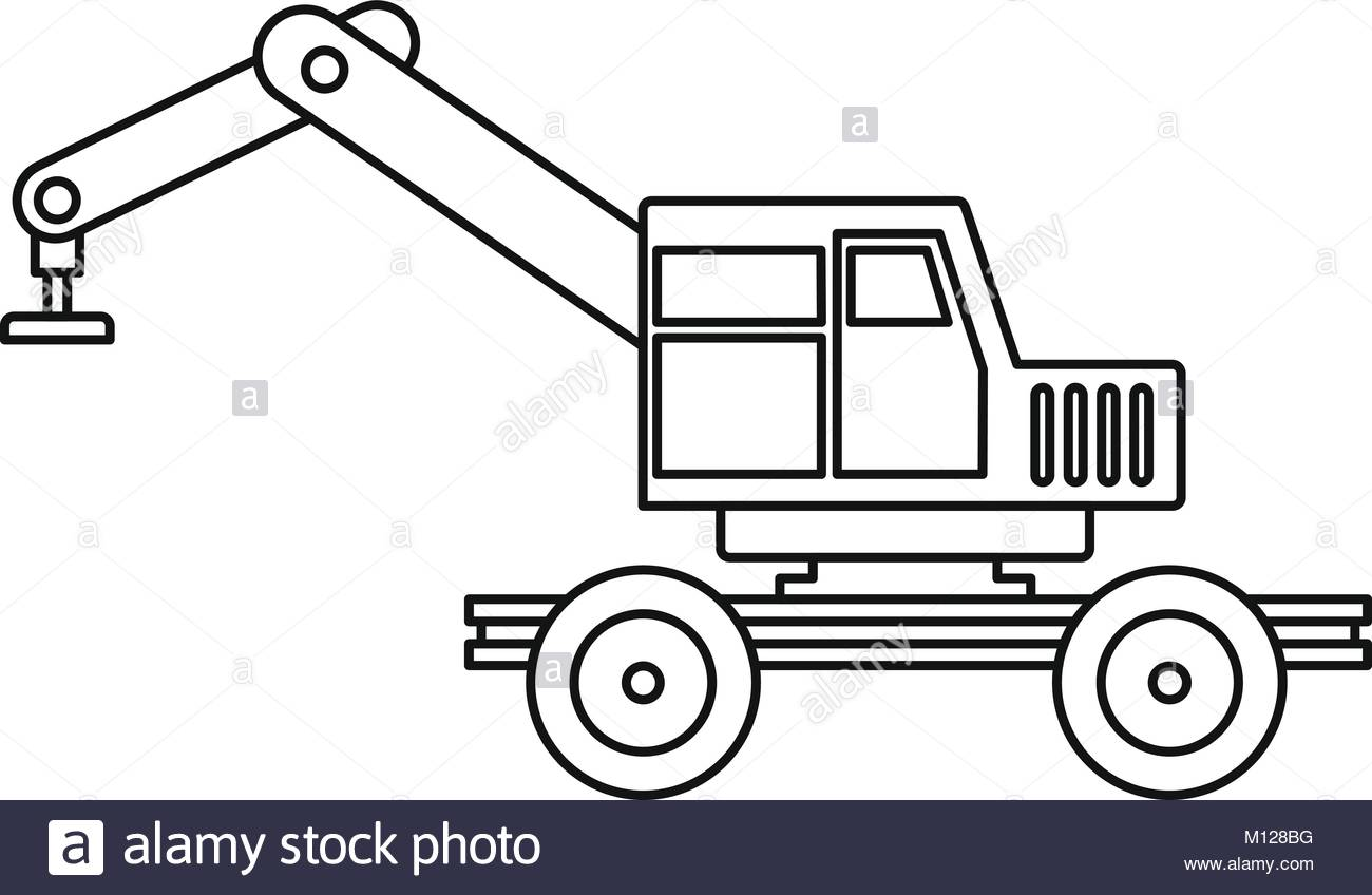 1300x848 Crane Truck Black And White Stock Photos Amp Images