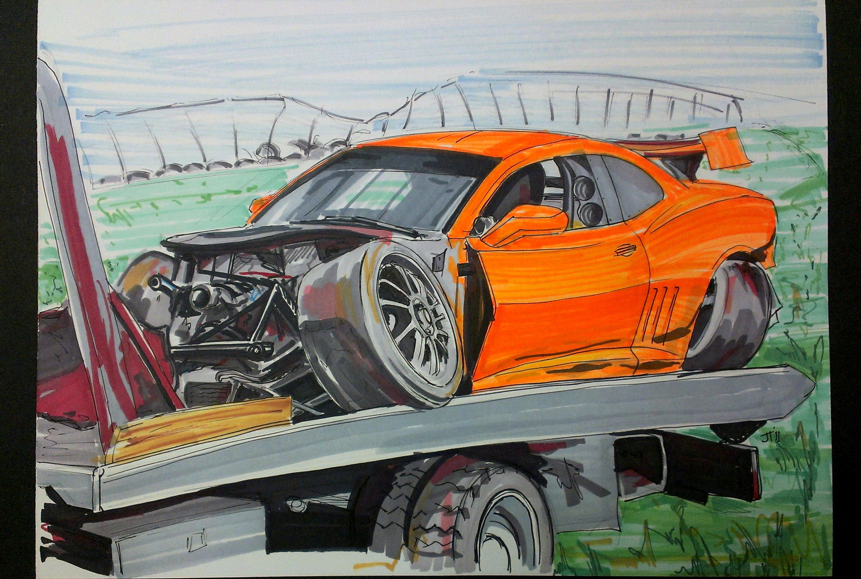 2736x1840 Crash Infamous Jims Auto Art