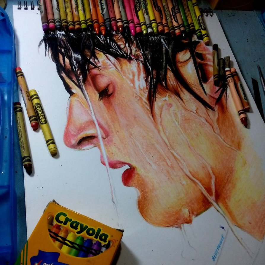 894x894 Crayola Crayon Drawing By Blueprince312