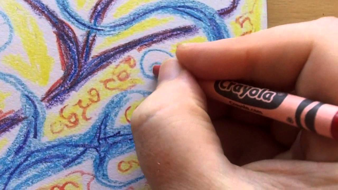 1280x720 Drawing Journal 2 Crayola Crayons Warm Up Exercise