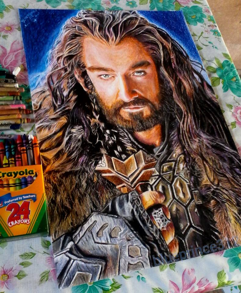 790x960 Thorin (Crayola Crayon By Blueprince312
