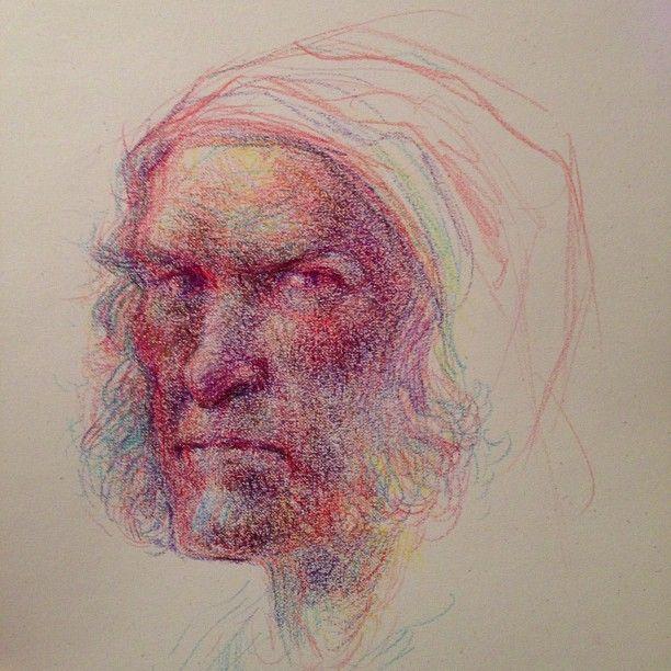 612x612 More Crayola Crayon Drawing. Tonight, A Scrooge Sketch. I Luv