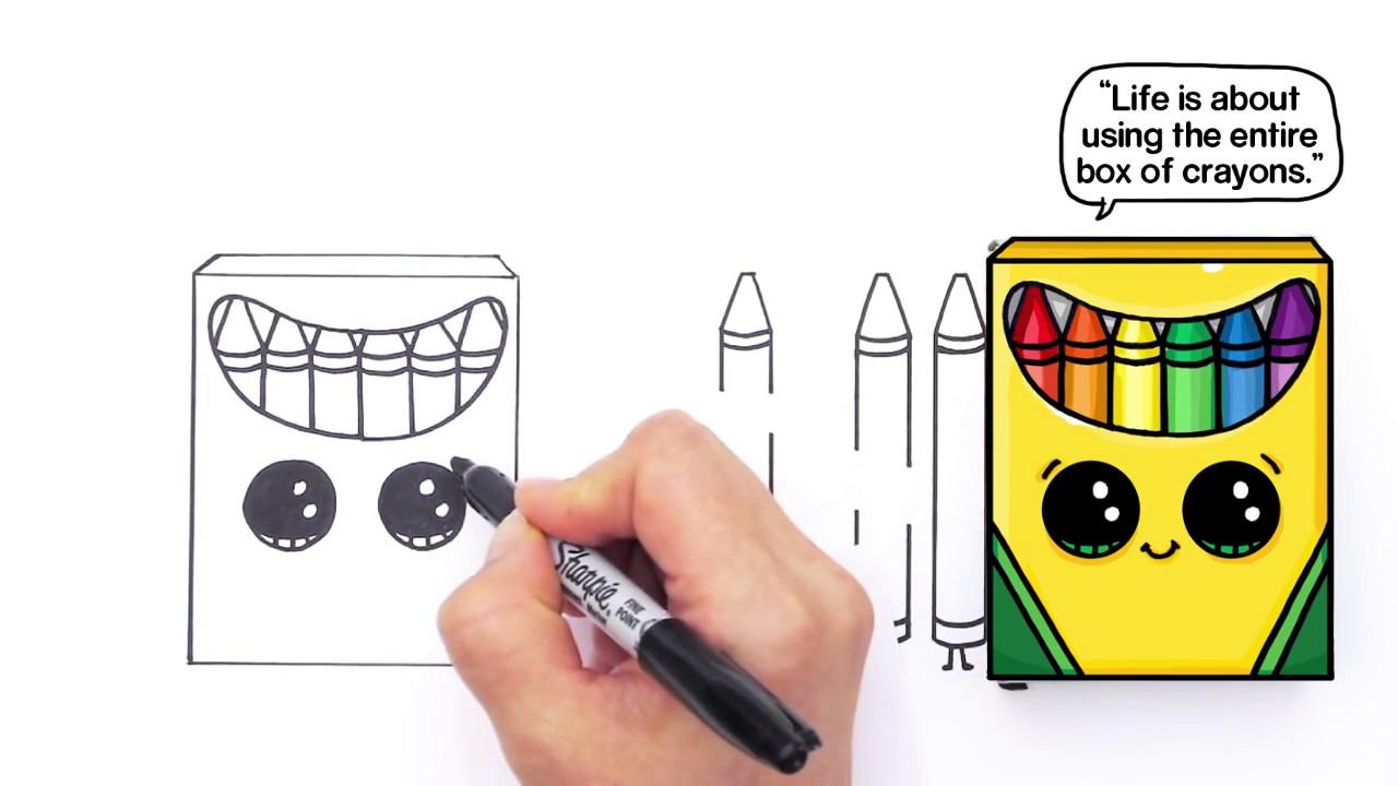Crayon Box Drawing at GetDrawings.com   Free for personal use Crayon ...