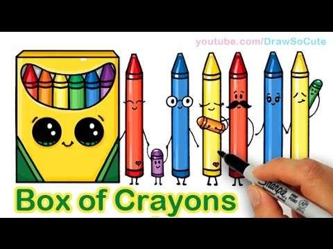 Crayon Box Drawing at GetDrawingscom Free for personal use Crayon