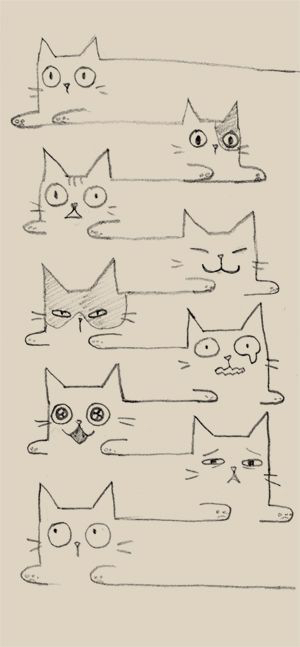 300x647 Pin By Alina Cat On Draws Cat, Drawings And Doodles