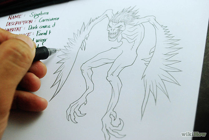 670x449 Scary Drawings Easy