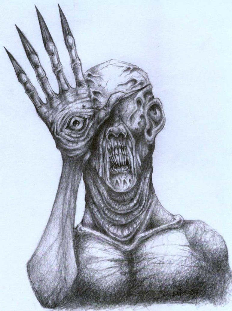 772x1034 Freaky Creature By Morbidmic