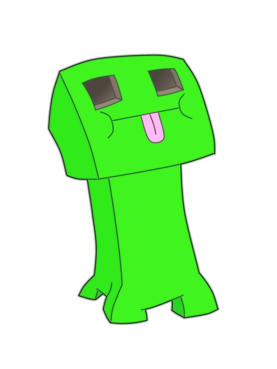 Creeper Minecraft Drawing At Getdrawings Com Free For