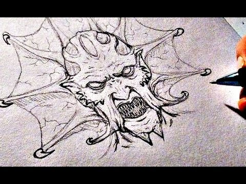 480x360 Drawing Jeepers Creepers Demon