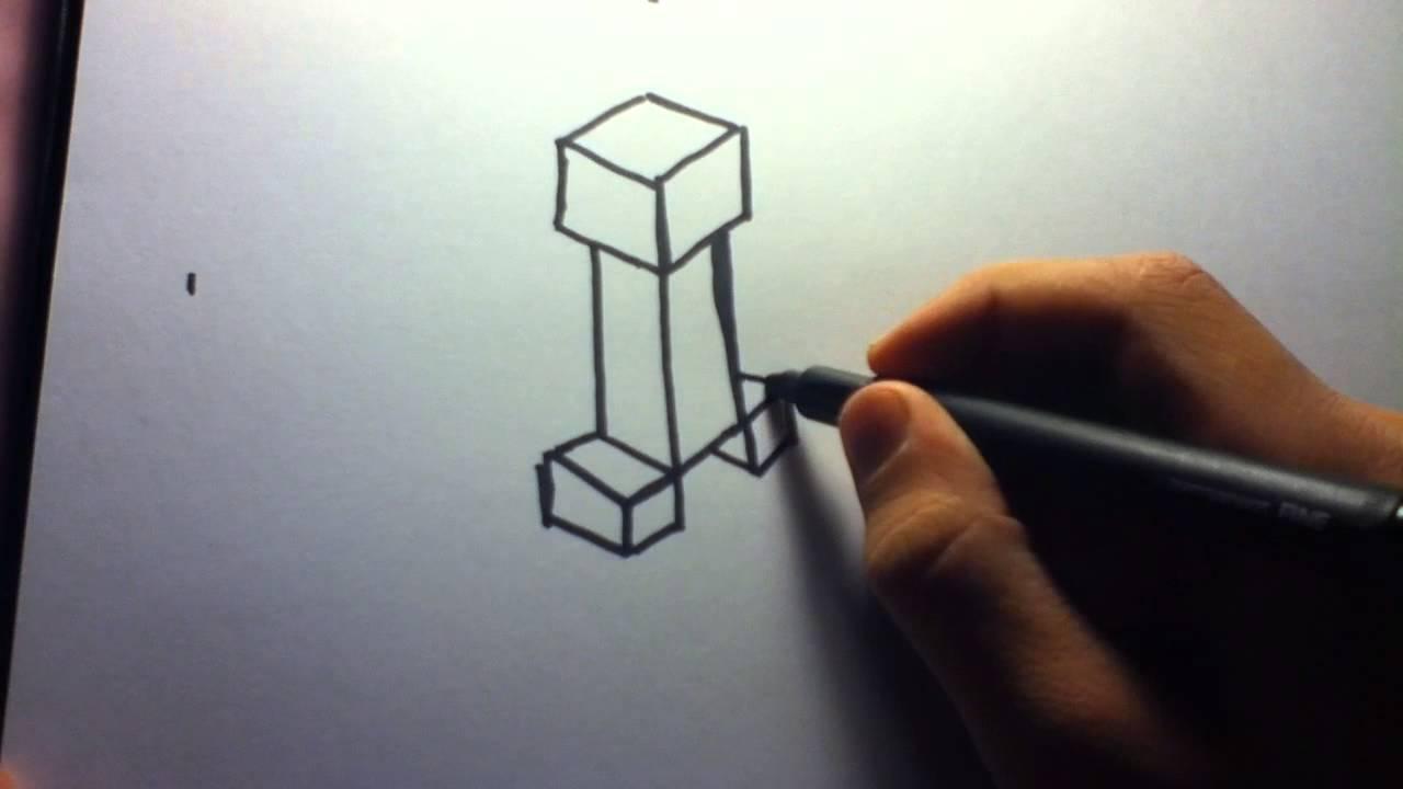 1280x720 How To Draw Minecraft Creeper