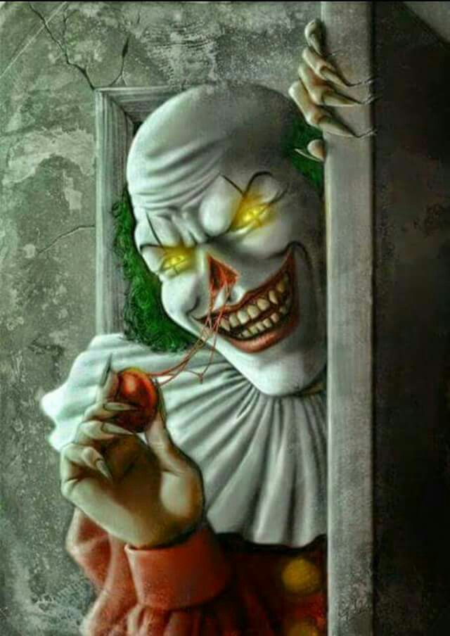 640x904 Can Smell You Better Now, Are You Asleep Yet ! Creepy Clowns