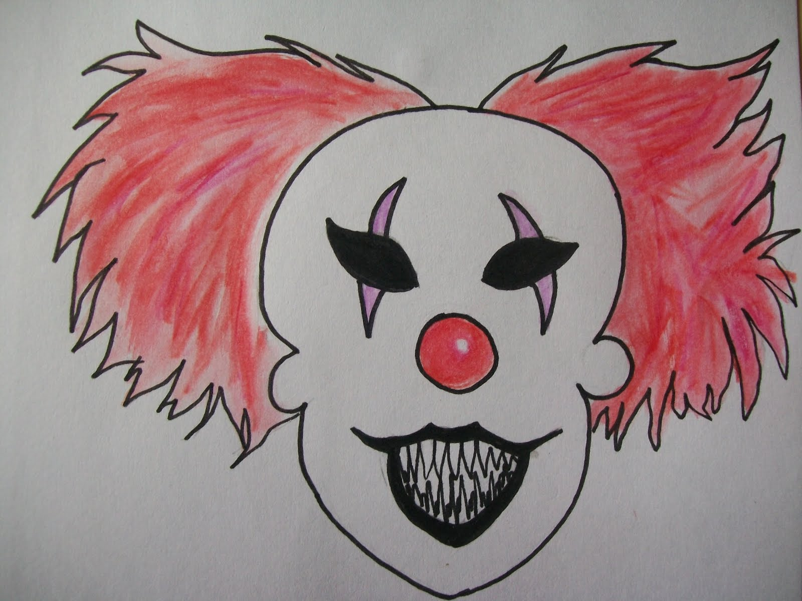 1600x1200 Happiness Crafts Scary Clowns And Postcards