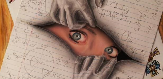 616x300 Optical Illusion Drawing Master Young Drawings