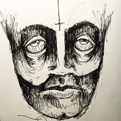 creepy face drawing at getdrawings com free for personal use