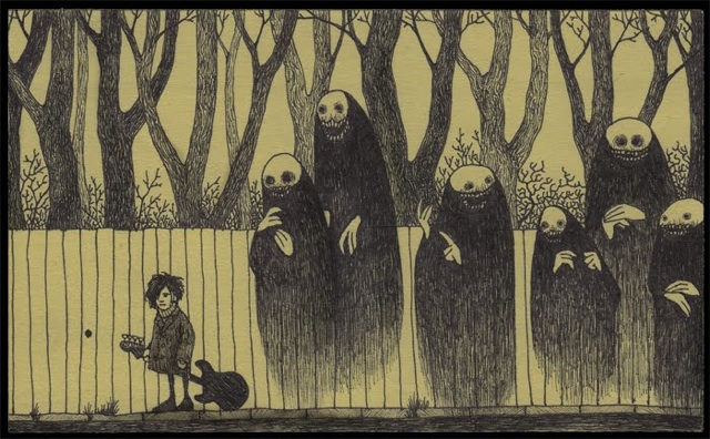 640x396 Monster Drawings On Post It Notes By Don Kenn