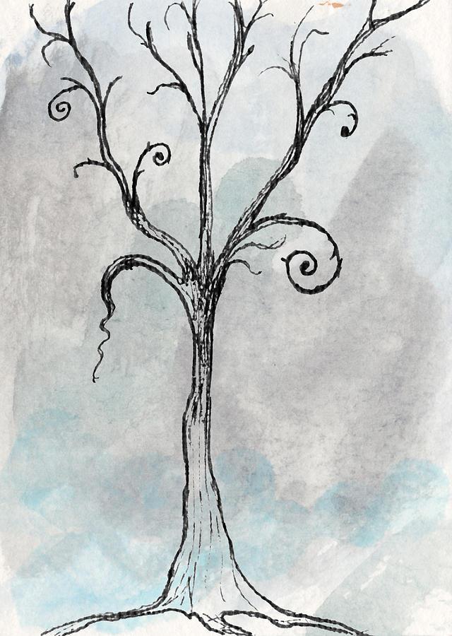 640x900 Gothic Tree Digital Art By Jacquie Gouveia