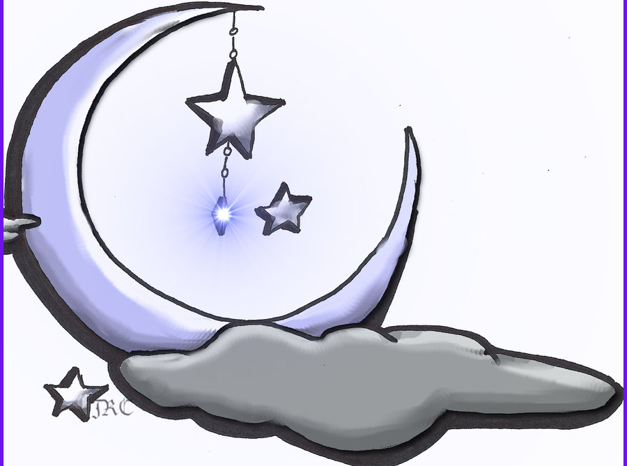 900x669 Hd Wallpapers Star And Moon Drawing