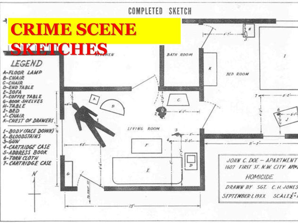1024x768 Crime Scene Sketches.