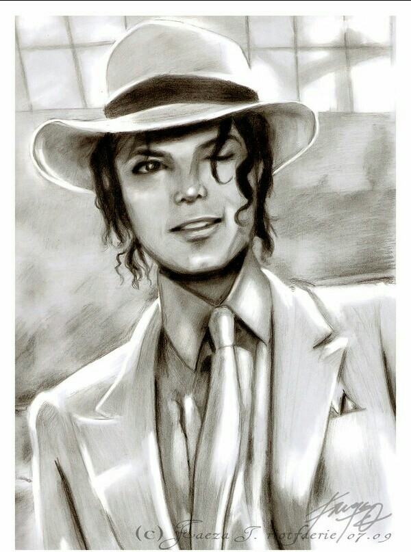 600x807 Smooth Criminal Drawing The King Of Pop Michael
