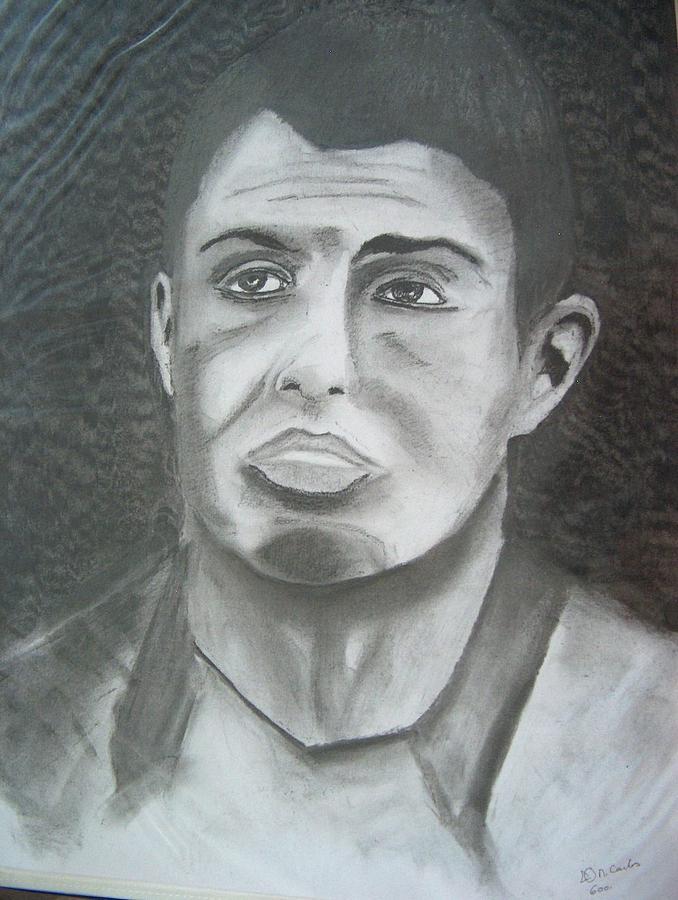 678x900 Cristiano Ronaldo Drawing By Manuel Charles Martin