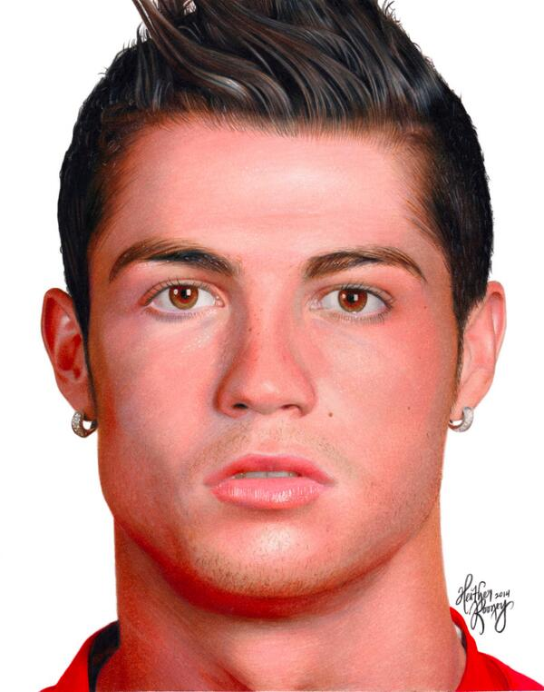 600x762 Drawing Cristiano Ronaldo By Heatherrooney