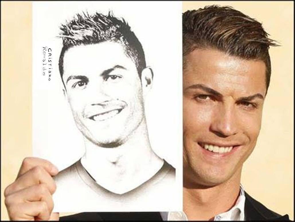 1029x773 Speed Drawing Cristiano Ronaldo