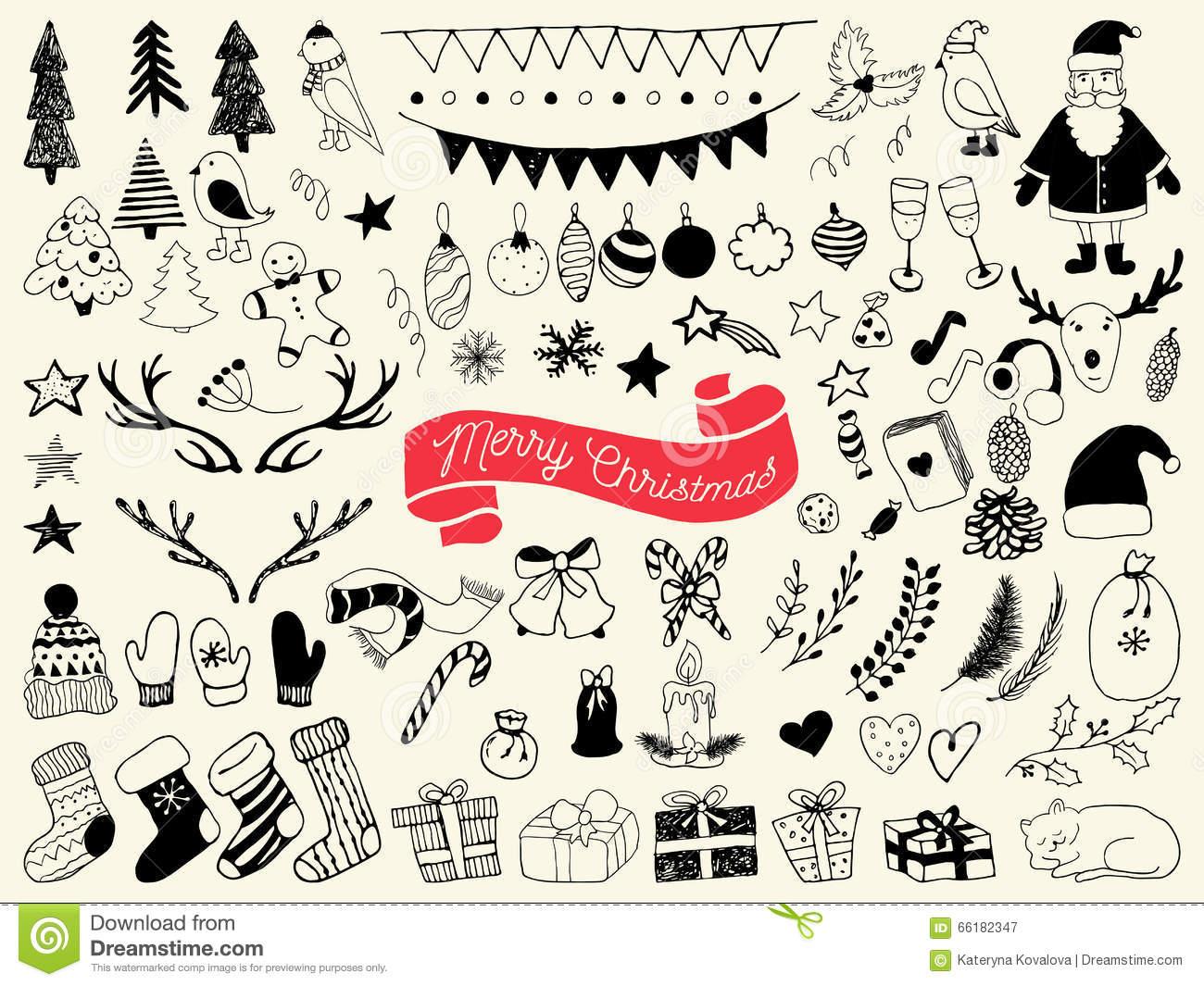 1300x1065 Christmas Symbols Drawings Fun For Christmas